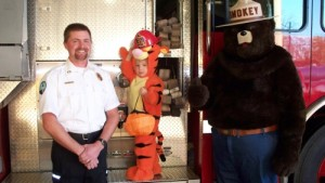 Chief Dahlstrom & Smokey